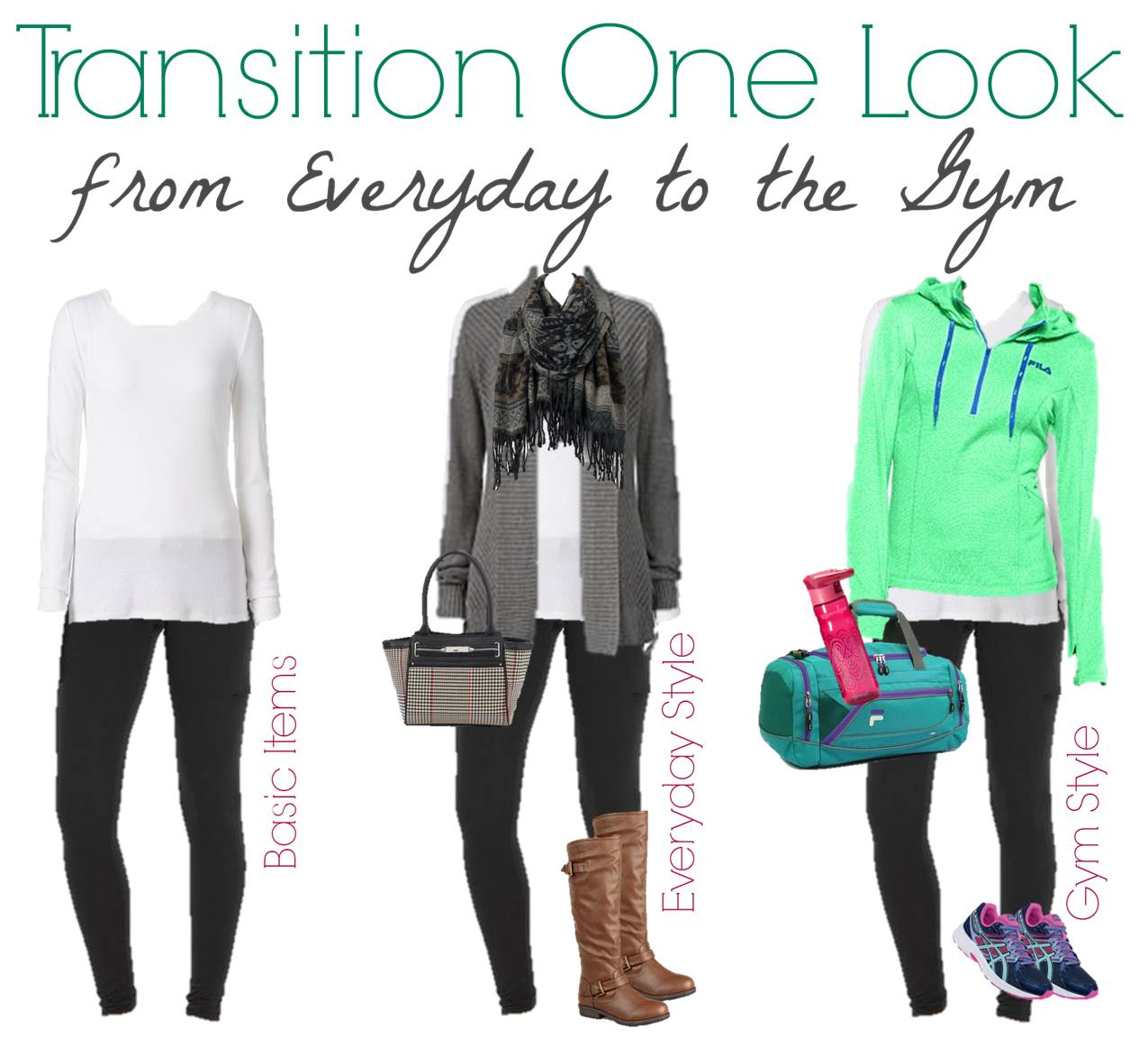 1.12 FASHION BOARD - Transition One Look from Everyday to Gym - Kohls (1)